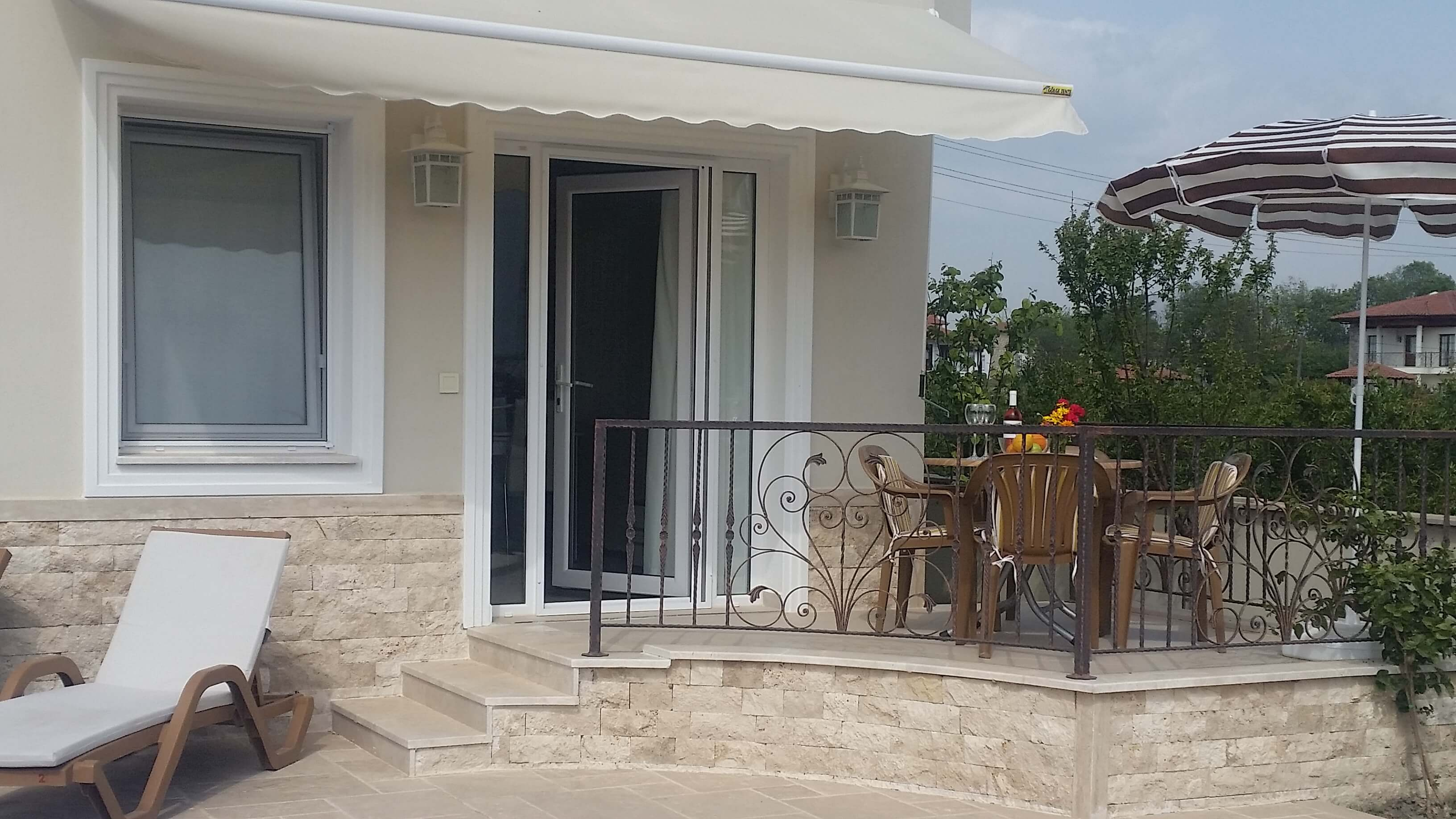 Outside Pool and Terrace